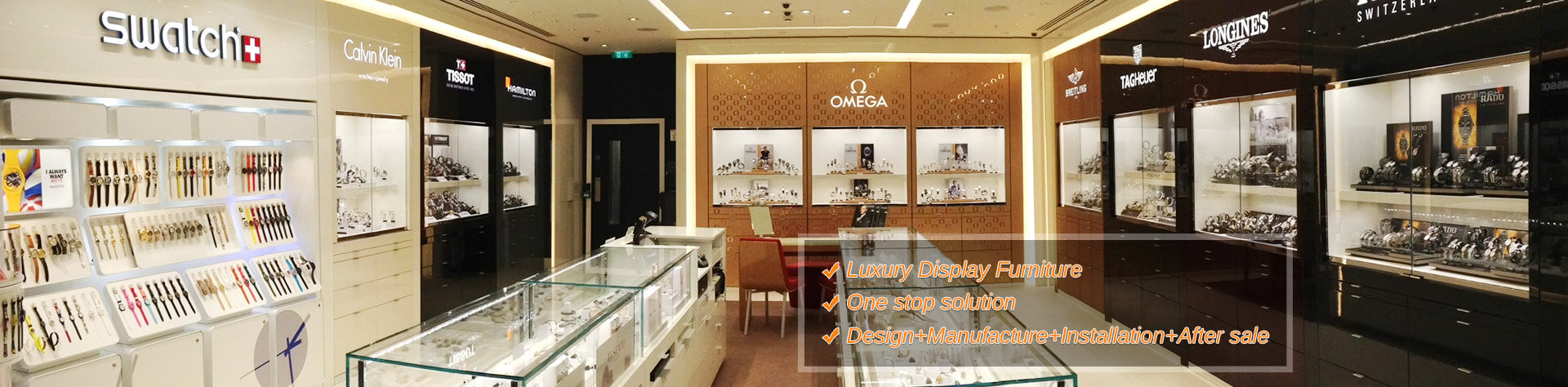 Display Cabinet And Showcase For Jewelry Shop