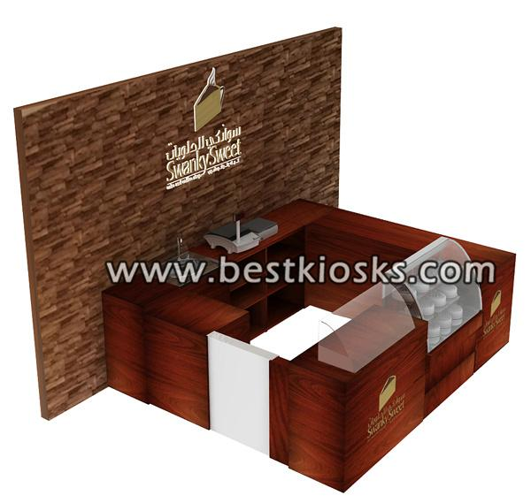 Coffee shop furniture, coffee counter design for sale
