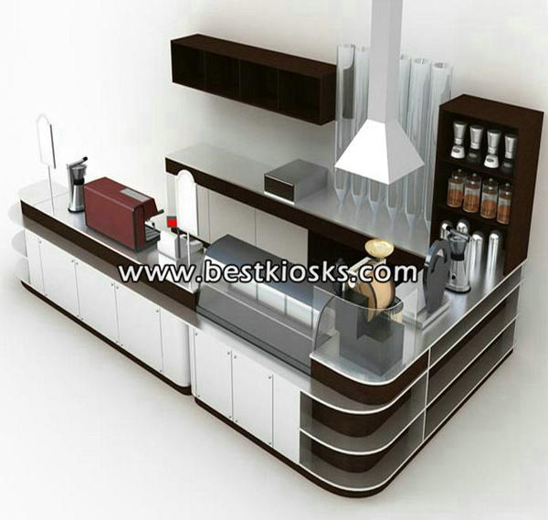 Coffe shop counter, coffee kiosk for sale