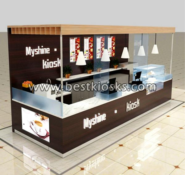 Coffe shop furniture coffee counter, coffee kiosk for sale