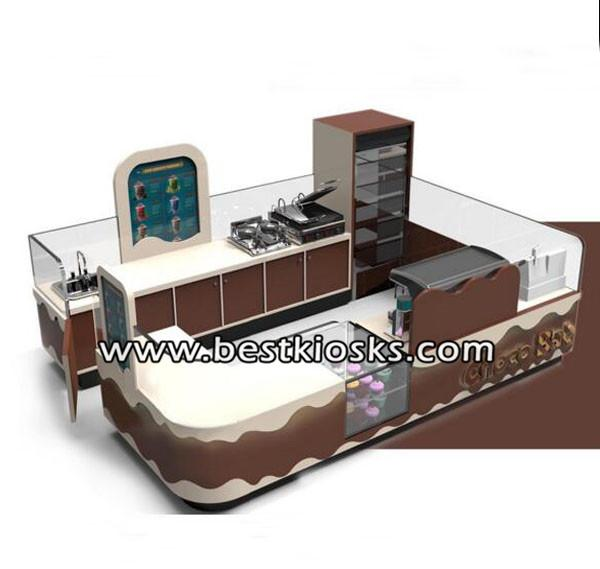 Australian shopping mall approved juice bar kiosk coffee kiosk for sale