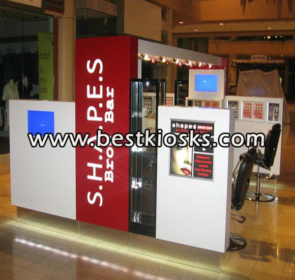 Shopping mall barber shop kiosk hair kiosk for sale