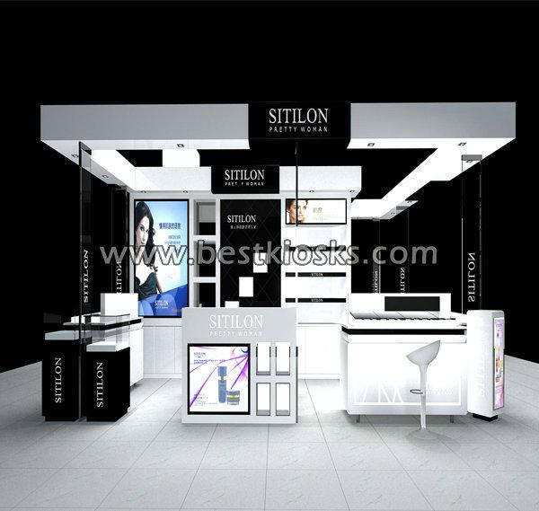 Shenzhen Factory offer perfume kiosk cosmetic kiosk