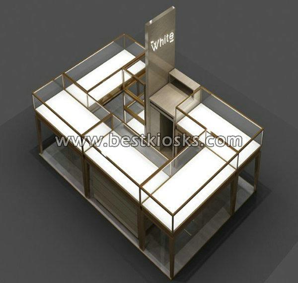 China factory supply jewelry shop furniture jewelry kiosk for sale