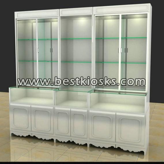 Jewelry shop furniture jewelry display cabinet for sale