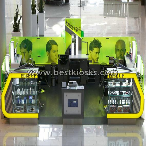 Best sell barber kiosk for man hair cut