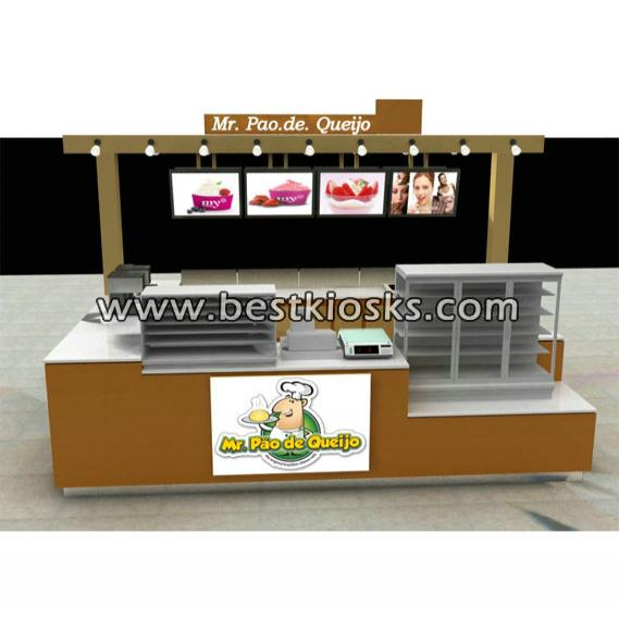 Spring potato kiosk with hard lights for sale