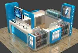 How to get a commercial cellphone accessories mall kiosk in Shenzhen