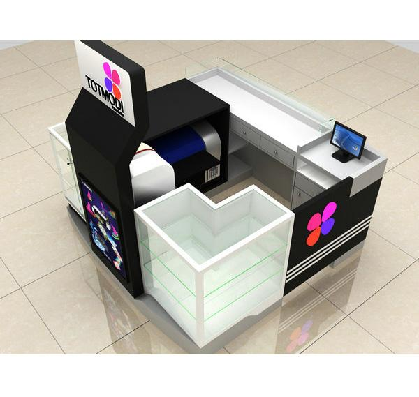 Australia franchises cell phone kiosk for mall cell phone accessories