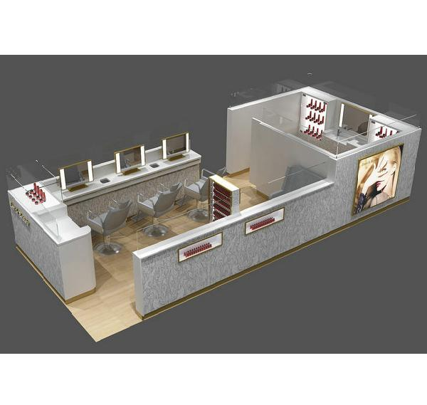 Barber shop in shopping mall hair salon cutting kiosk for sale